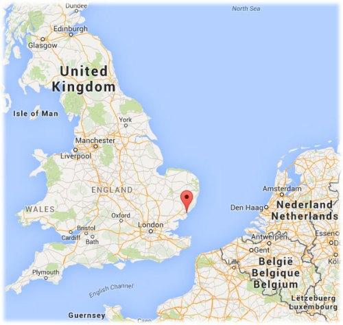 map-Harwich-UK