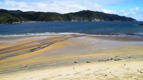 Doughboy Bay on Stewart Island. DOC supplied