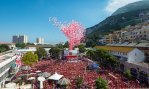 Gibraltar's annual balloon release is one of the biggest of its kind in the world. Photograph : Mark Attard/Alamy