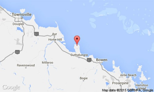 oil-beach-Queensland-Great-barrier-reef-Australia-map