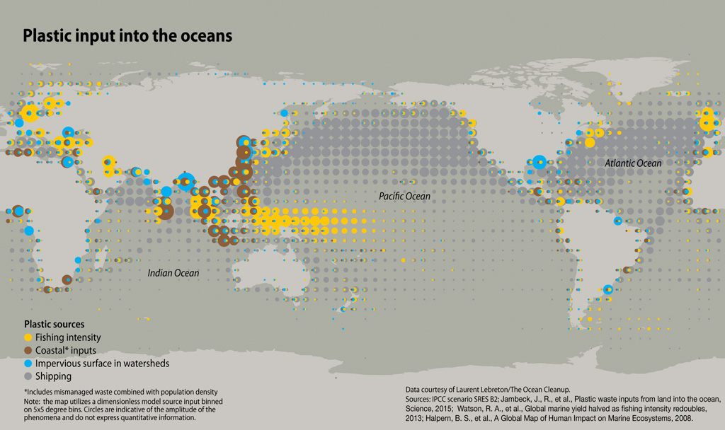 Map plastic pollution the ocean update 8 maps show plastics impact on the world ocean and whats being done about it map plastic pollution freerunsca Gallery