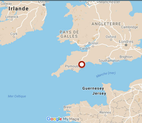 fin-whale-devon-uk-map