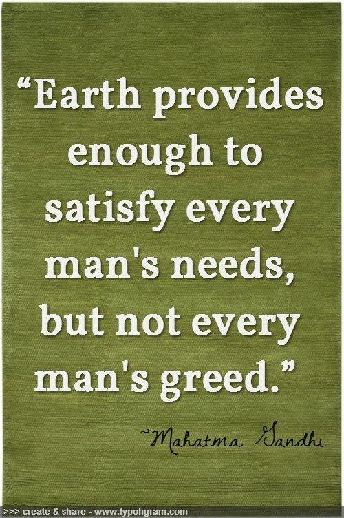 human-greed